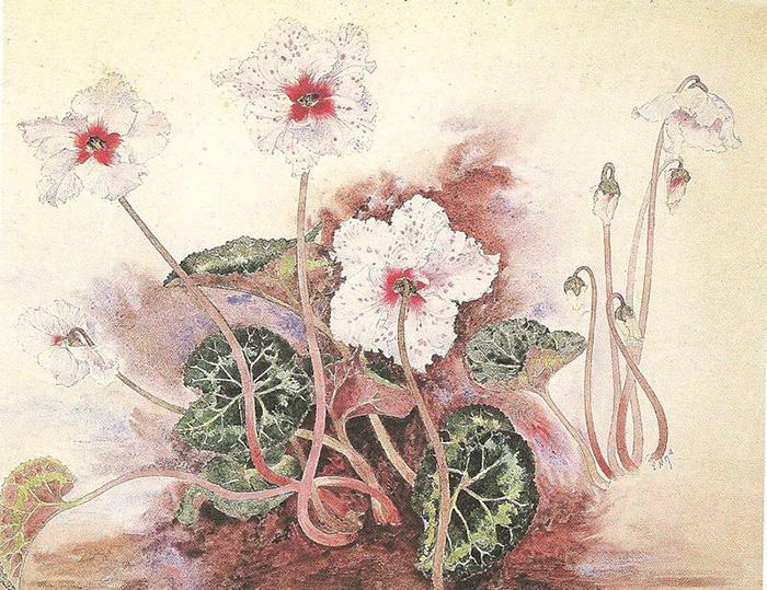 Рисунок Эмиля Галле.