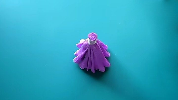 Феи из гофрированной бумаги Рукоделие