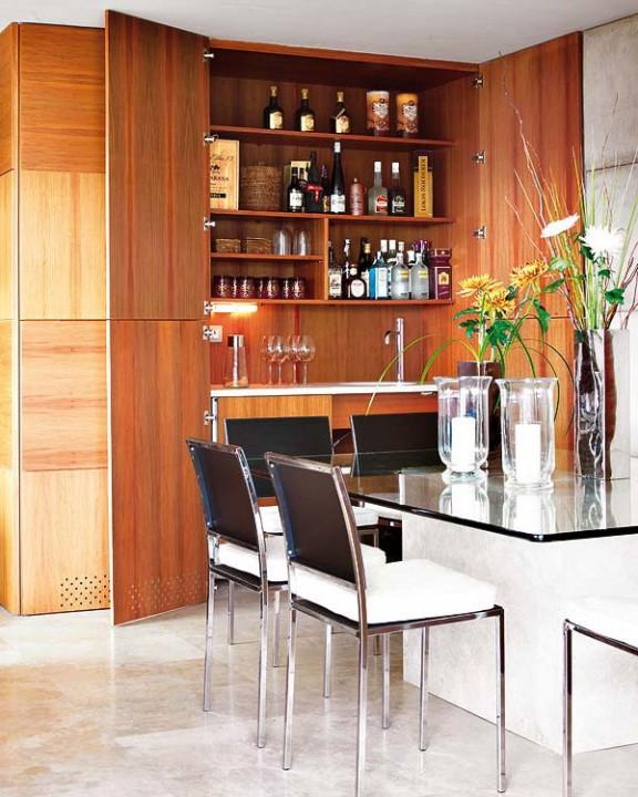 Интерьер гостиной обеденная зона