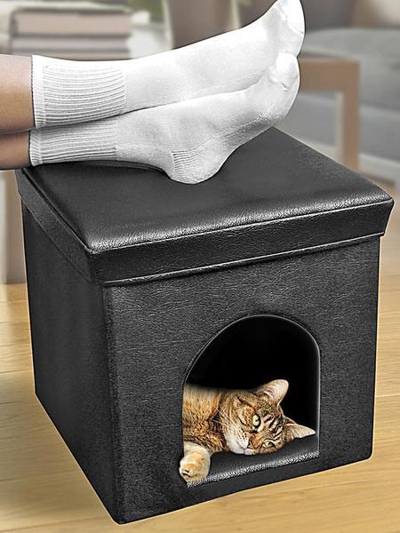 Спальня для любимой кошки: 10 милых идей фото 2