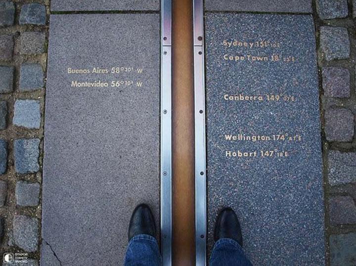 Нулевой меридиан в Гринвиче достопримечательности, желания, мир