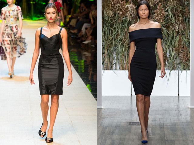 Маленькое черное платье весна-лето 2017