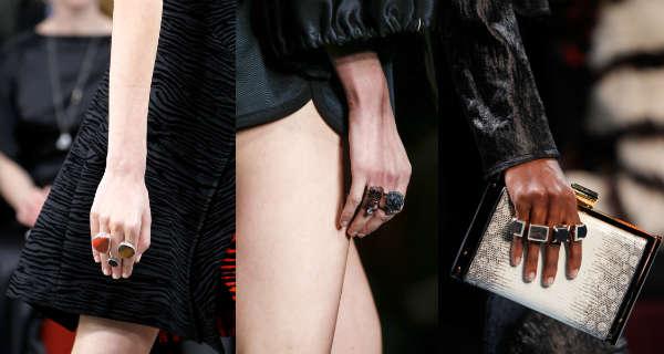 Модные кольца осень-зима 2014-2015
