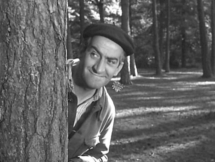 Луи де Фюнес в фильме *Не пойман – не вор*, 1957 | Фото: kino-teatr.ru