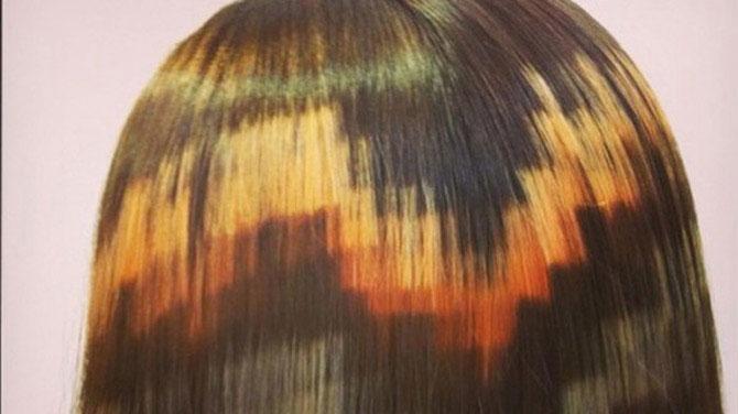Цветные пиксели: новый тренд в окрашивании волос