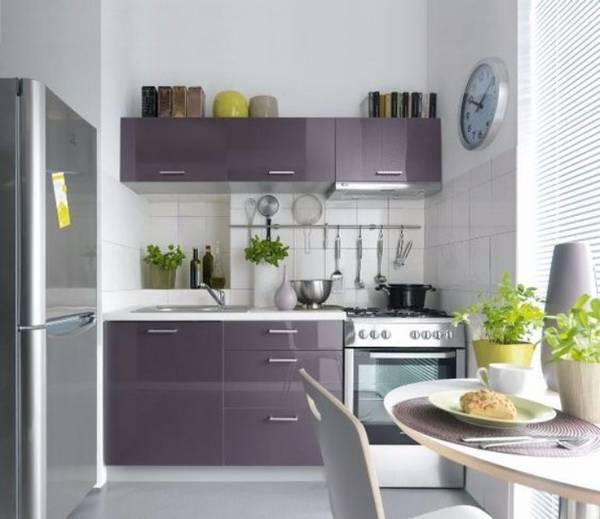 дизайн маленькой кухни фото, фото 5