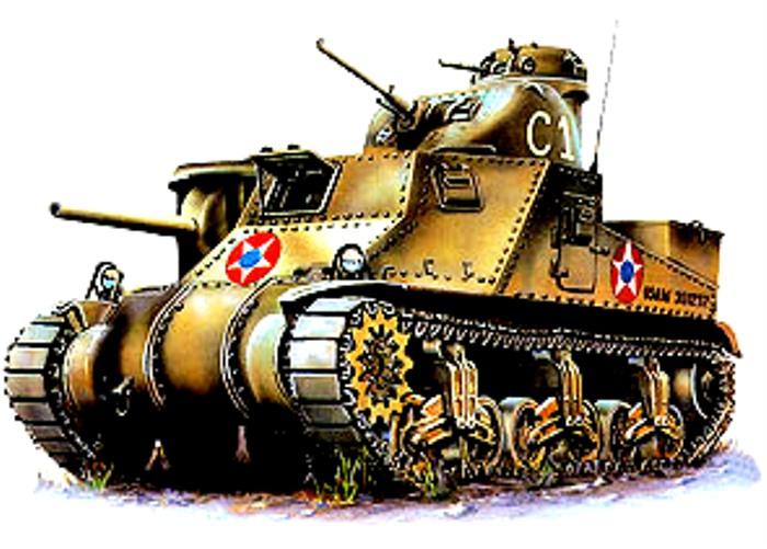 Странный танк прямиком из Америки. /Фото: armor.kiev.ua