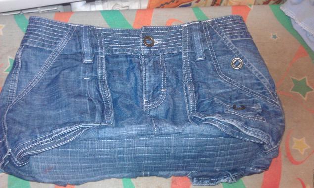 Модная сумка из старых джинсов, фото № 31