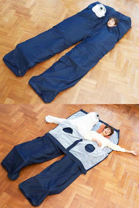 Уникальный спальный мешок.