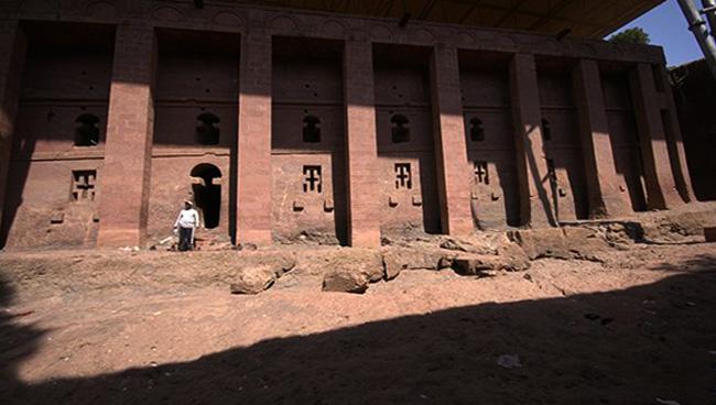 Храм Христа Спасителя в Лалибела