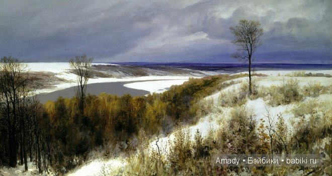 Нежно и снежно — зима в творчестве знаменитых художников