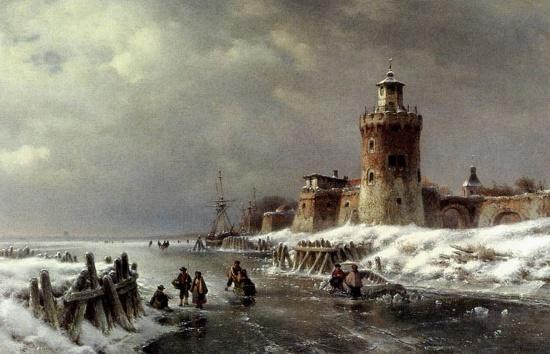 художник Лодевейк Йоханнес Клейн (Lodewijk Johannes Kleijn) картины – 14