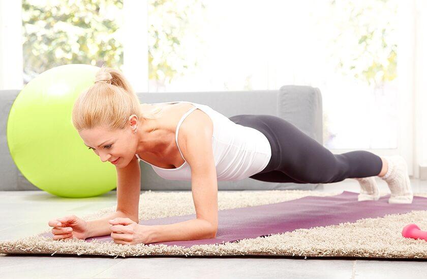 Домашний фитнес в картинках упражнения