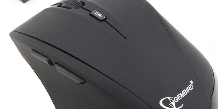 Лазерная мышь с дополнительными кнопками Gembird MUSW-208