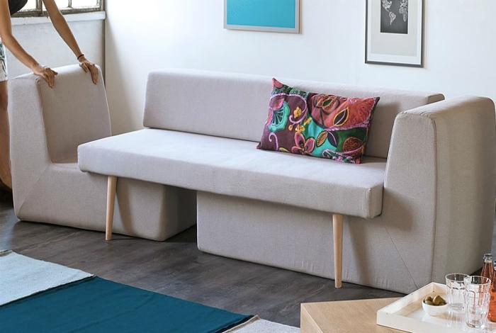 Современный комплект мебели.