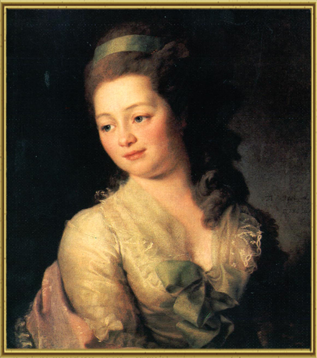 Портрет М. А. Дьяковой