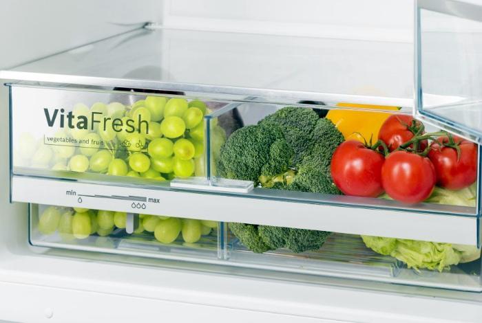 Грамотное хранение овощей и фруктов в холодильнике.