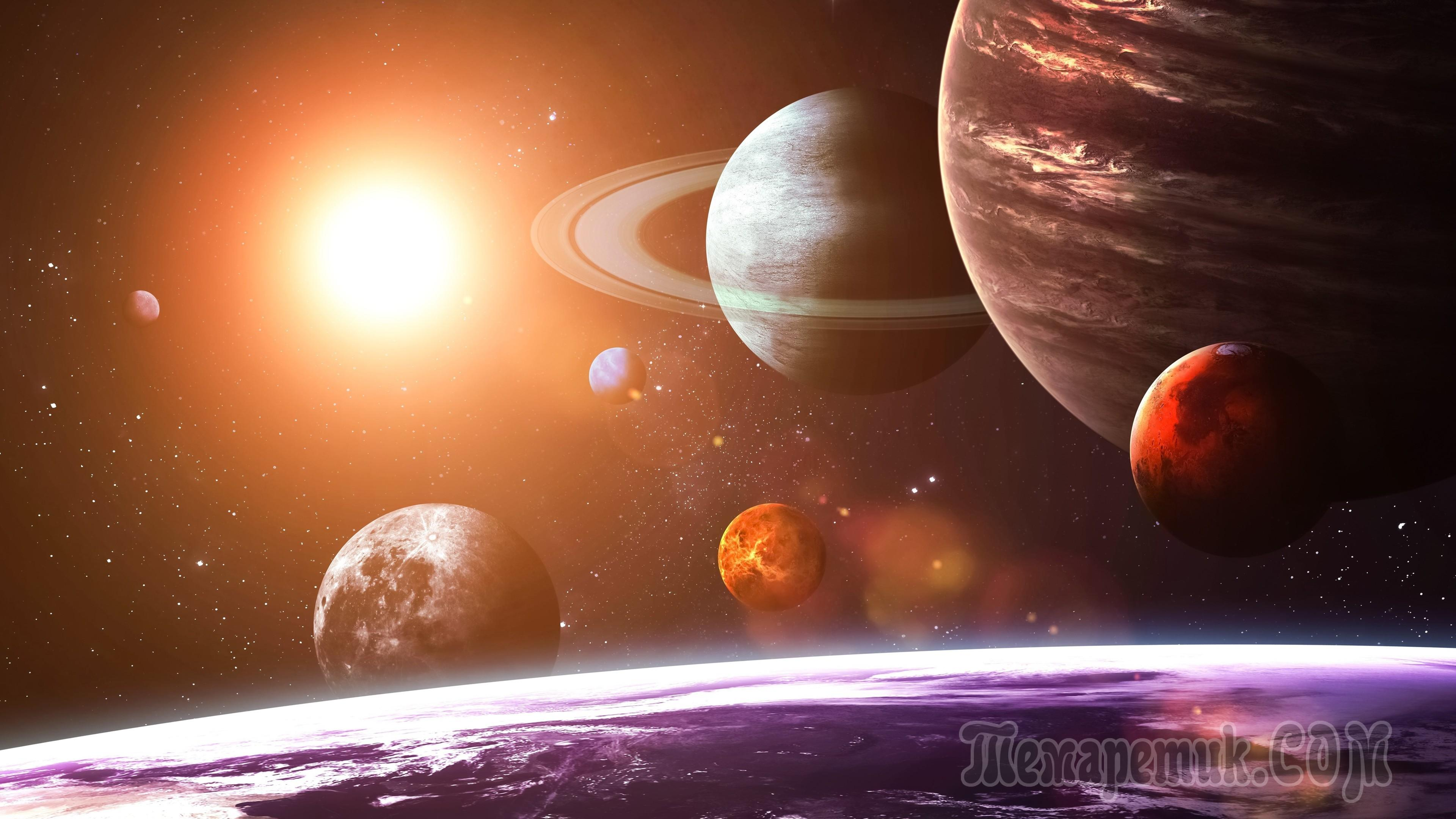 Solar System Planets Illustrations  Creative Market