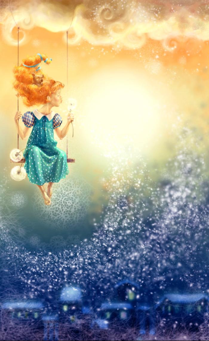 Смешные картинки, открытка волшебство начинается с тебя