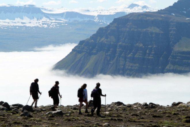 Активный туризм в Исландии