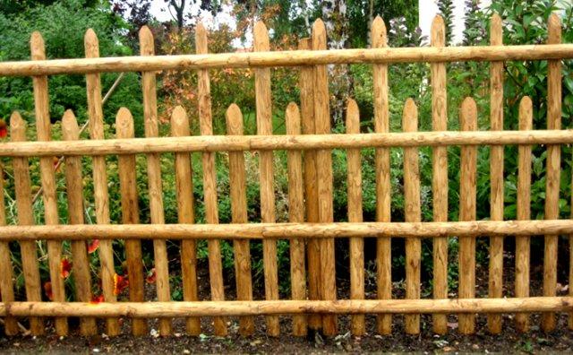 Забор на дачу