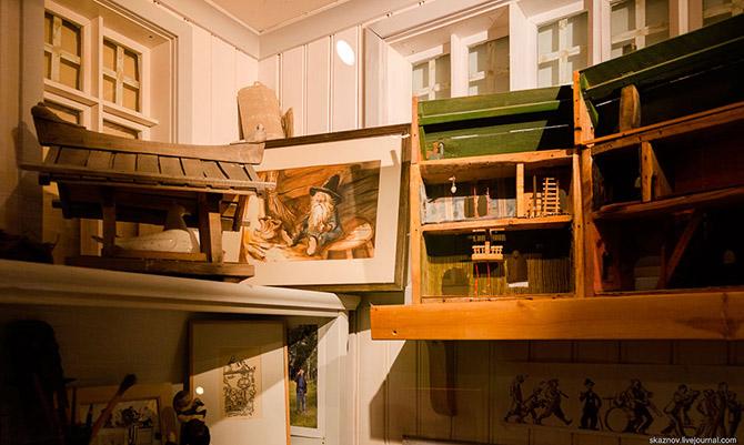 Экскурсия по музею сказок Юнибаккен