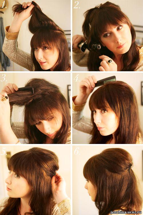 Красивые прически на короткие волосы своими руками фото