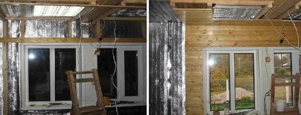 утепление дома изнутри пенофолом фото