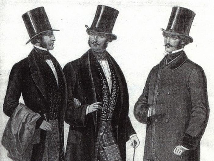 Джентльмены в XIX веке