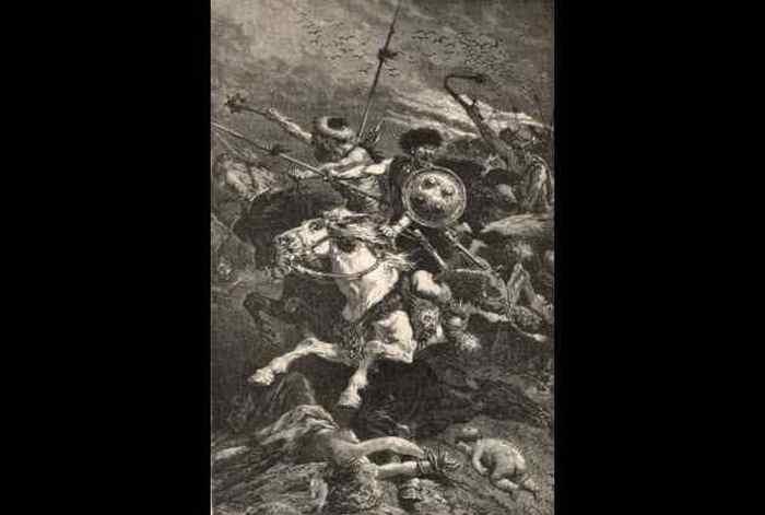 Битва на Каталаунских полях.
