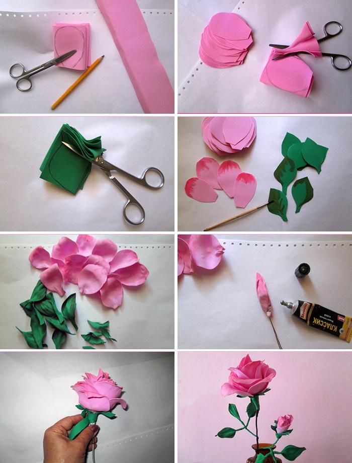Как сделать маленькие розочки фото 251