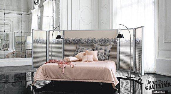 Спальня в одном из частных домов дизайнера Джессики Лагранж, США