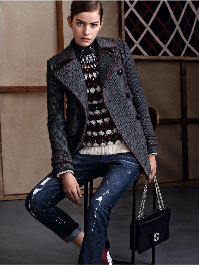gucci pre fall 2015, gucci, тренды осень 2015,что носить осенью