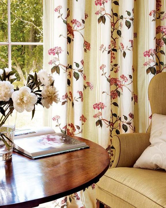 Стильные шторы гостиная