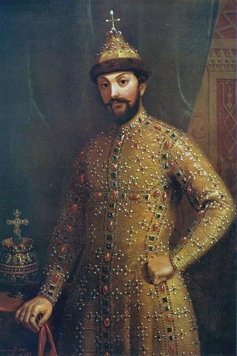 Портрет царя Фёдора.