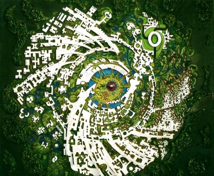 Индийский город идеального общества. /Фото: nat-geo.ru