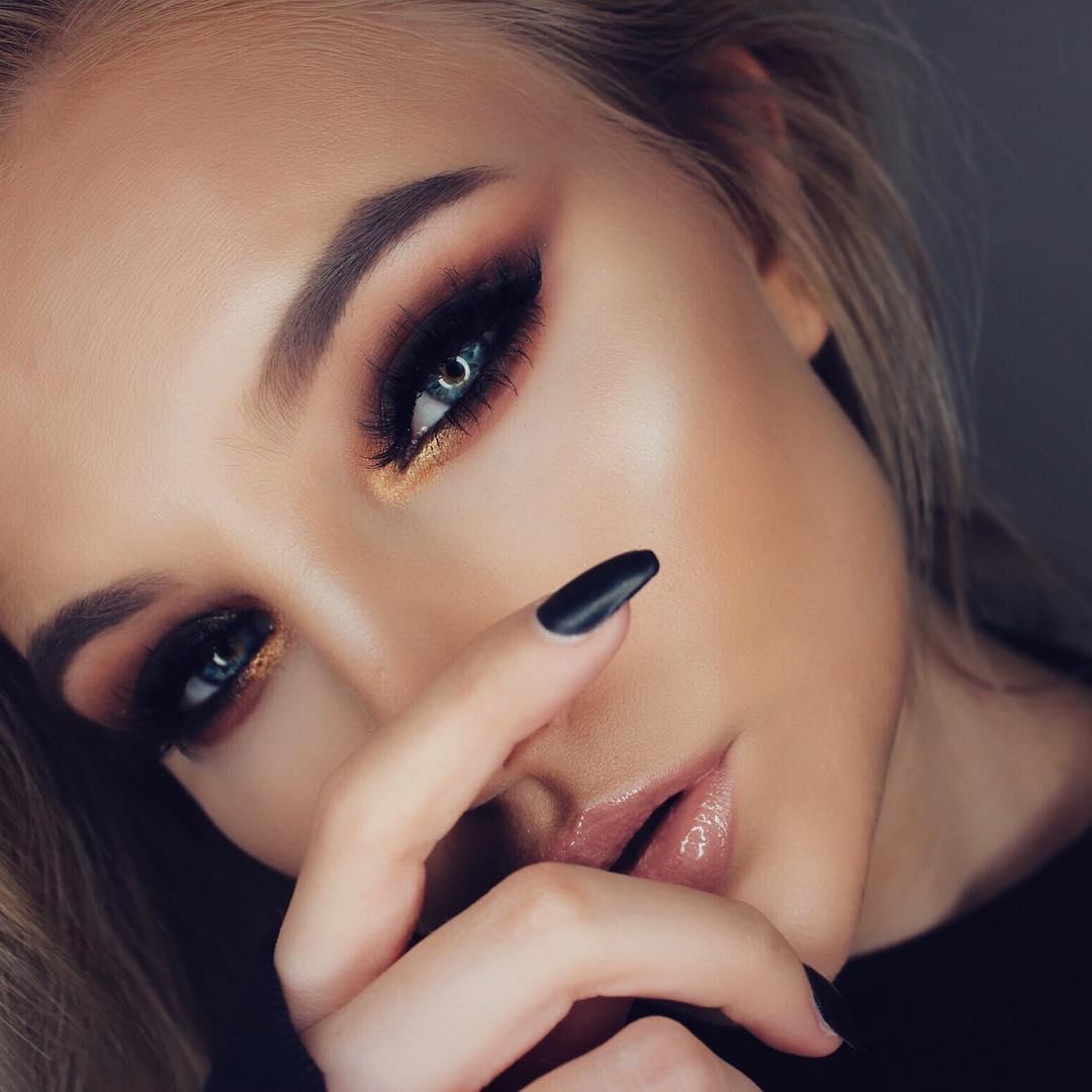 34 неотразимые идеи макияжа для встречи Нового года 2019 рекомендации