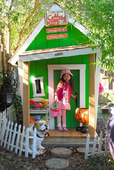 Маленькие домики своими руками из подручных материалов фото