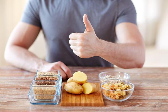 быстрые углеводы список продуктов таблица для набора веса
