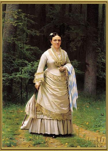 Портрет В.Н. Третьяковой
