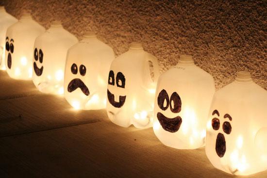 Фонарь для дома на Хэллоуин