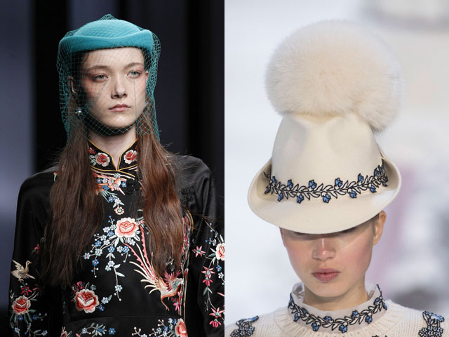 Кокетливые шляпки сезона 2016-2017