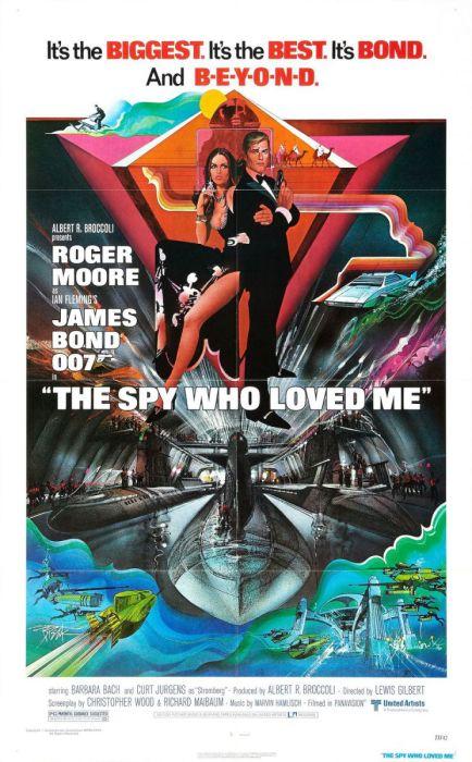 Фильм «Шпион, который меня любил» дал самый дорогой трюк в кино.
