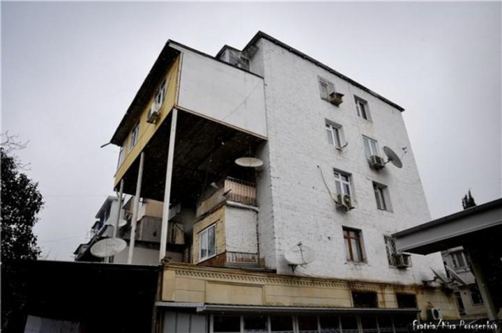 Балконный вопрос балкон, маразм, пристройка, архитектура