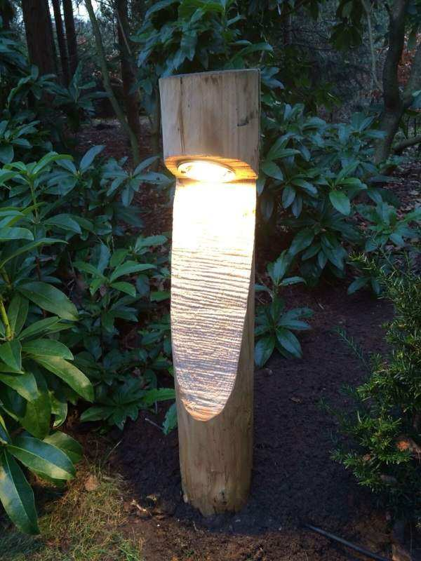 как сделать садовые светильники своими руками, фото 38
