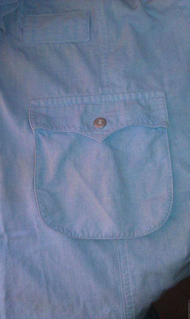 Модная сумка из старых джинсов, фото № 23