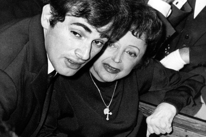 Эдит Пиаф и Тео Сарапо в день свадьбы, 1962 год