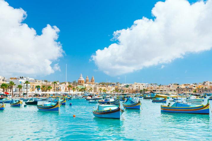 Марсашлокк, Мальта Сказочно, города, красиво, места, мир, пейзаж, планета, фото