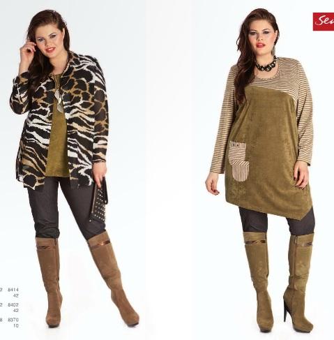 9fa37badf Модная одежда для полных девушек 2014