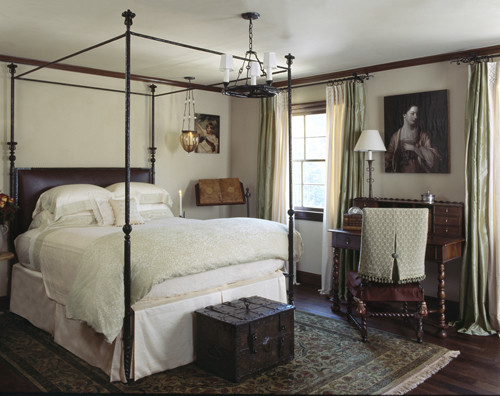 English Country Home in Marin traditional bedroom